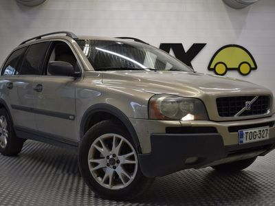 käytetty Volvo XC90 D5 AWD 7-P Momentum Geartronic 163hv! / Hyvin huollettu Suomi-auto / Hyvät renkaat