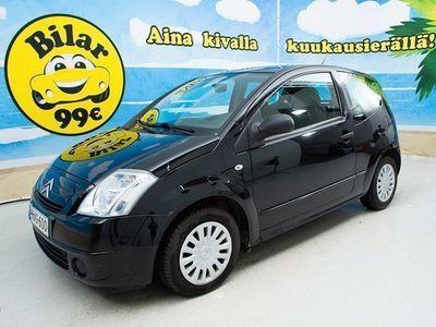 käytetty Citroën C2 1,1i Noir - *SIISTI YKSILÖ // ABS* - *ILMAINEN KOTIINTOIMITUS KAIKKIALLE!*