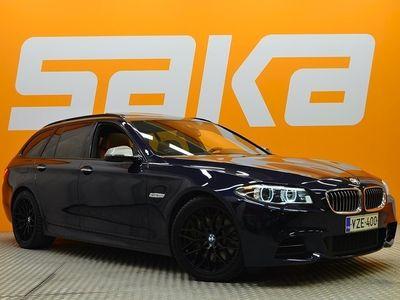 käytetty BMW 550 F11 Touring Sport A xDrive ** SUPERVARUSTEET / Panorama / Webasto / Ilmastoidut&hierovat Comfort-penkit / Soft Close / HUD **