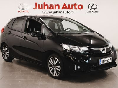 käytetty Honda Jazz 5D 1,3 Elegance Navi / Black Days / Korkotarjous 0,9% ei muita kuluja
