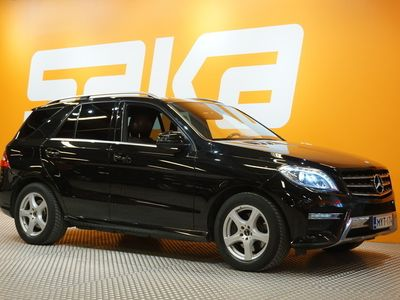 käytetty Mercedes ML350 BlueTec 4Matic AMG-Styling ** EDITION 1 / Designo / Muistipenkit / Panorama / Lisälämmitin / P-k