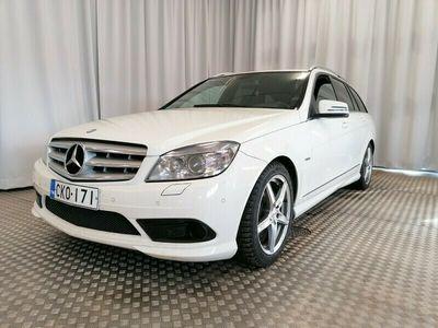 käytetty Mercedes C350 CDI 4Matic T A AMG sisä ja ulkopaketilla