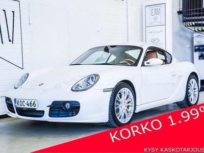 käytetty Porsche Cayman S 3.4 Coupe 2d Tiptronic SPORT-PUTKISTO, BOSE, XENON, VAKKARI, AUT. ILMASTOINTI, KAHDET ALUT, HUOLTO