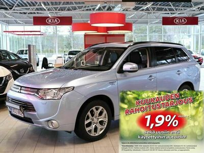 käytetty Mitsubishi Outlander P-HEV Instyle NAVI CVT AT 4WD 5p Business