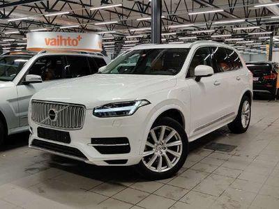 käytetty Volvo XC90 T8 Twin Engine AWD Inscription aut 7-Ist ** HUIPPUVARUSTEET / Webasto / VOC / Pilot Assist / BLIS / Panorama / Kamera **