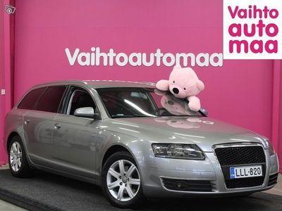 käytetty Audi A6 Avant 2,0 TDI (DPF) 103 kW multitronic-aut. *Sportti-penkit* *Rahoitus ilman käsirahaa* *3 KK Lyhen