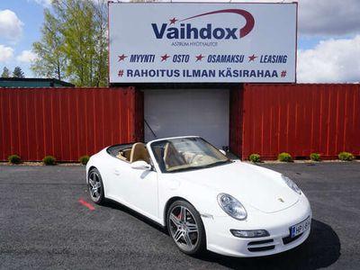 käytetty Porsche 911 Carrera 4S Cabriolet 911 911 3.8 2d Sport Chrono Package plus /