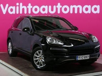 käytetty Porsche Cayenne Diesel Tiptronic #Suomi-auto #Nahat #Sähköpenkit