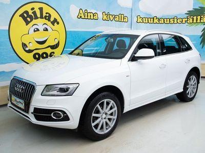 käytetty Audi Q5 2.0 TDI 140kw Quattro S tronic *S-LINE, VETOKOUKKU, SPORTTIPENKIT, TUTKAT!* - *0.89% KORKO 0.89%!*