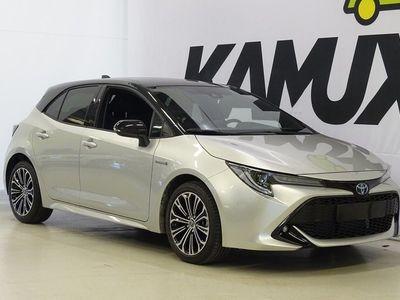 käytetty Toyota Corolla Hatchback 2,0 Hybrid Hatchback 2,0 Hybrid Style / Tehdastakuu / Uudet kesä- ja talvirenkaat! / Lämmitettävät etuistuimet / P-Kamera / Kaistavahti / Adapt. Cruise / Keyless/