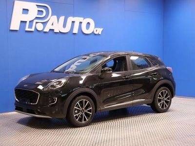 käytetty Ford Puma 1,0 EcoBoost Hybrid (mHEV) 125hv M6 Titanium 5-ovinen - 1000€:n varuste-etu!! Korko 0,99%*! Ensimm