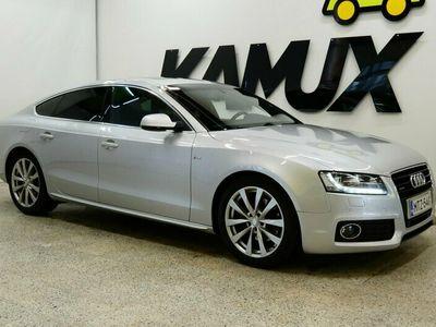 käytetty Audi A5 Sportback 3,0 V6 TDI DPF 176 kW quattro S tronic-autom. / S-Line / Vetoja / Kattoluukku / Navigointi /
