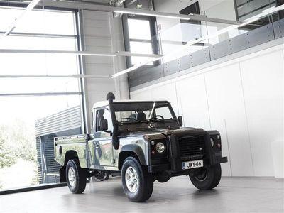 käytetty Land Rover Defender 110 2,5 Td5 Pickup / 2-Paikkainen pakettiauto + Webasto + Vetokoukku + Sis. ALV 24%