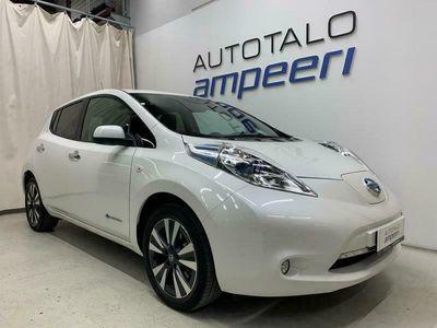 käytetty Nissan Leaf MY16 24kWh Tekna * Cold Climate * Nahat * Bose Audio * LED * Kahdet renkaat * Rahoitus *
