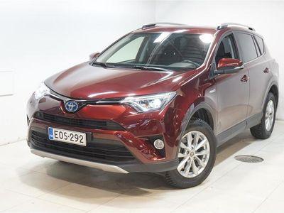 käytetty Toyota RAV4 2,5 Hybrid FWD Hybrid Edition Navi,Keyless,Ad.Cruise,Lämm.Tuulilasi ja Ratti,Sähk.Takaluukku,...