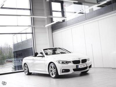 käytetty BMW 420 d F33 Cabriolet M-Sport Aut + Nahat + Navi + BiXenon + Tutkat / Tulossa myyntiin!