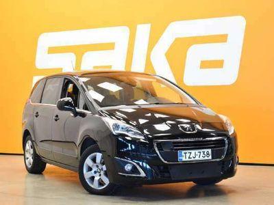 käytetty Peugeot 5008 Active HDI 115 ** Juuri tullut / 7-Paikkainen / Lasikatto / Suomiauto **