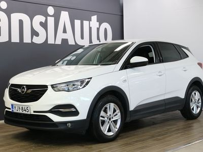 """käytetty Opel Grandland X Enjoy 1,2 Turbo Start/Stop 96 kW AT6 """", Enjoy More -paketti, 1 -omistaja, huoltokirja"""" **** SUPERTAR"""
