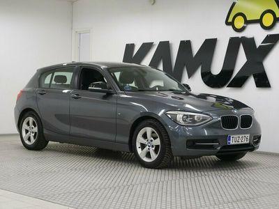 käytetty BMW 118 F20 TwinPower Turbo Business / Juuri katsastettu Suomi-auto / Sporttipenkit / /