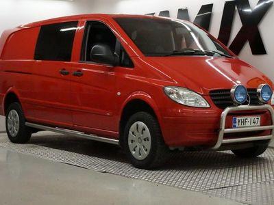 käytetty Mercedes Vito 111CDI 4x4-2,7/34K pitkä A3 Aut /