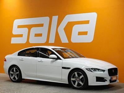 käytetty Jaguar XE 20d R-Sport Aut 180hv ** Näyttävä / Navi / Kaistavahti / Tulossa **
