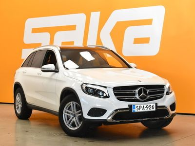 käytetty Mercedes GLC220 d 4Matic A Premium Business **Juuri tullut / Nahat / Navi / ILS / Panorama / Sähköluukku / Ilma
