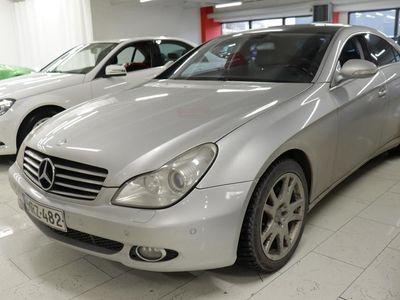 käytetty Mercedes CLS320 CDI - Tyylikäs MB CLS, Automaatti-ilmastointi, Vakionopeudensäädin, Sähkösäätöiset etuistuimet