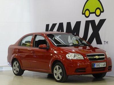 käytetty Chevrolet Aveo 4-ov LS 1,4 M/T AC Star //1-Omisteinen Suomi-auto / Juuri Huollettu / Juuri Katsastettu!/Vetokoukku/2xrenkaat/ Ilmastointi/Vähän ajettu//