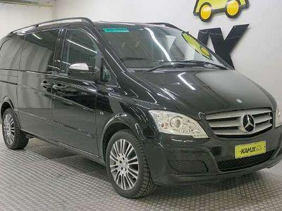 käytetty Mercedes Viano 3,0 CDI V6 A / Webasto / Xenon-valot / 7-P / Nahkaverhoilu / Vetokoukku / Läpijuostava /