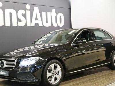 "käytetty Mercedes E220 4Matic A Avantgarde ""Comand Online, Distronic"" **** LänsiAuto Safe -sopimus hintaan 590EUR. *"