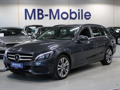 käytetty Mercedes C300 Hybrid T Bluetec Aut Diesel hybridi / / Alvillinen /