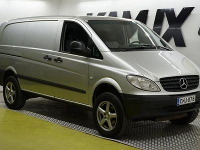 käytetty Mercedes Vito 115CDI 4x4-2,7/34K pitkä A3 Aut