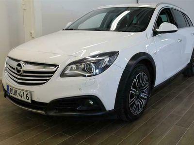 """käytetty Opel Insignia Country Tourer """" 2,0 CDTI BiTurbo 4x4 143kW AT6 - Lisälämmitin kaukosäädöllä, Mukautuvat AFL-Kaksoisxenonvalot"""""""