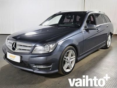 käytetty Mercedes C220 CDI BE T 4Matic Aut. Premium Business - AMG Paketti - Webasto kaukosäätimellä