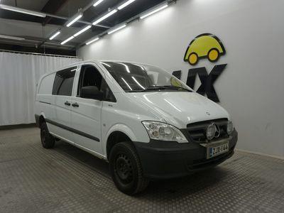 käytetty Mercedes Vito 113CDI 4x4-3,05/34K pitkä A3 Trend A / Sis. ALV / Polttoainetoiminen lisälämmitin / Välitila /