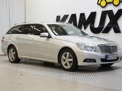 käytetty Mercedes E220 CDI BE T A Elegance / Juuri huollettu / Comand Navi / Kaistavahti / Sähköluukku