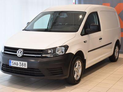 käytetty VW Caddy Maxi umpipakettiauto 2,0 TDI 75kW PRO #Vetokoukku #Navigointi