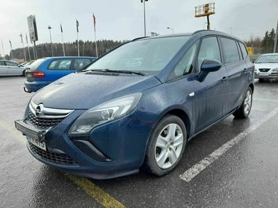 käytetty Opel Zafira Tourer Enjoy 1,4 Turbo 103kW AT6 - Merkkihuollettu 7-paikkainen bensa -automaatti. Jakoketju vaihdettu. Sii