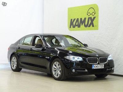 käytetty BMW 518 518 F10 Sedan d A Business Exclusive Edition / 1-Omistaja / Nahkasisusta / Vetokoukku / Ratinlämmitin