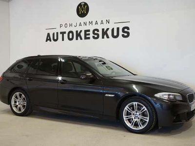 käytetty BMW 525 A F11 Touring - ** Korko 2,49%!! Kotiintoimitus !!! ** - ** M-sport / Panorama / Nahat / Navi **