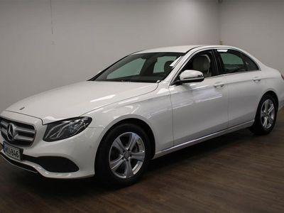 käytetty Mercedes E220 4Matic A Premium Business **Suomi-auto, Navi, Avantgarde, Led-valot, Night-paketti, Peruutuska