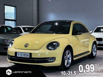 käytetty VW Beetle KORKO 0,99% / Sport 2,0 TSI 147kw DSG / Huippuhieno! / Nahkasisustus / Bi-Xenonit / Rahoitus / Vaihto