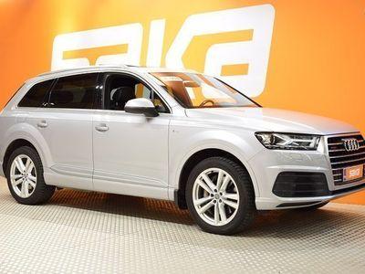 käytetty Audi Q7 Business 3,0 V6 TDI 200 kW quattro tiptronic 7-ist S-LINE ** TULOSSA / Panorama / Webasto / Muisti /