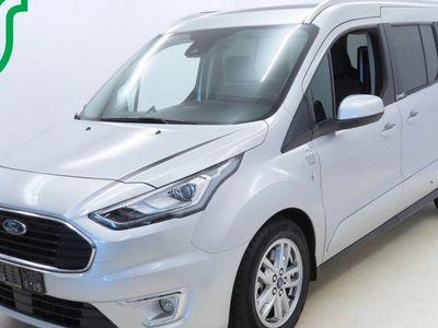 käytetty Ford Tourneo Connect Grand1,5 TDCi 120 hv A8 Titanium 5-ovinen - Carsport matalalattiamuutostyö ja taksiramppivarustelu