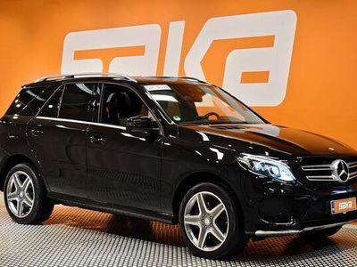 käytetty Mercedes GLE350 d 4Matic AMG-Styling ** 360 kamera / Nahkasisusta / Navi / Panoraama / Vetokoukku / 9G-Tronic va
