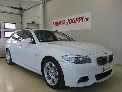 käytetty BMW 530 TwinPower Turbo M-Sport A xDrive F11 Touring *JUURI HUOLLETTU*ALPINWEISS 3*NAHAT*UPEA KOKONAISUUS*