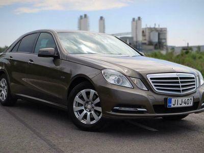 käytetty Mercedes E200 CDI BE Business Navi, tutkat, korkotarjous 0,99%