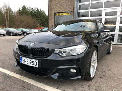 """käytetty BMW 420 M-SPORT 2.0 D TWINPOWER 184 HV CABRIOLET AUTOMAATTI NAHKASISUSTUS NAVIGOINTI LED NISKANLÄMMITYS 20""""S"""