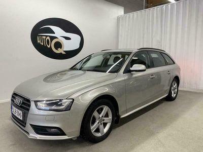 käytetty Audi A4 Avant Business 2,0 TDI 105 multitr (MY13). Sporttipenkit, Adapt.Vak. Kaistavahti, Kats 12/2022, Rahoitus.