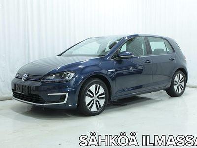 käytetty VW Golf e-Golf 115 hv automaatti *LED-VALOT, NAVI, TEHDASTAKUU VOIMASSA YMS.*